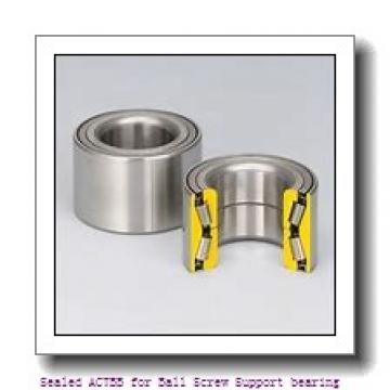 65 mm x 100 mm x 16,5 mm  NACHI 65TBH10DB Sealed ACTBB for Ball Screw Support bearing