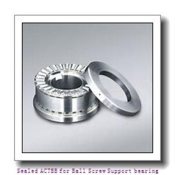 NSK 7202A5 Sealed ACTBB for Ball Screw Support bearing