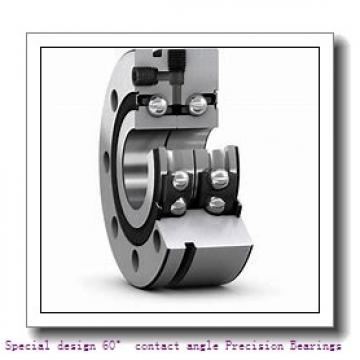 75 mm x 115 mm x 20 mm  NSK 75BER10H  Special design 60° contact angle Precision Bearings