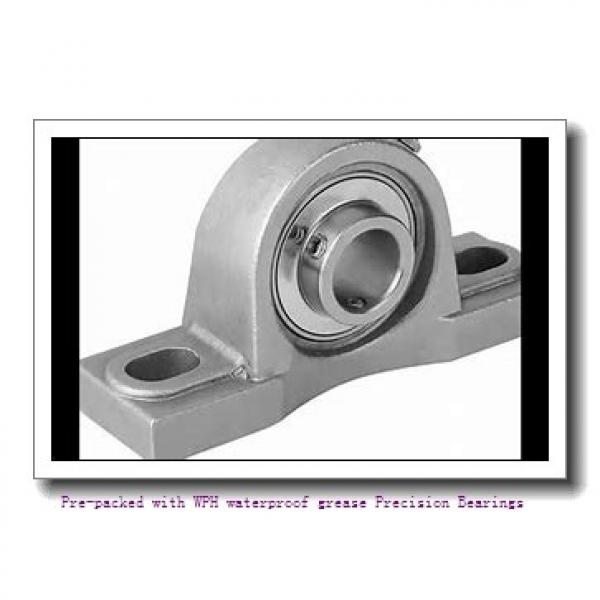 10 mm x 19 mm x 5 mm  SKF 71800 ACD/P4 Pre-packed with WPH waterproof grease Precision Bearings #1 image