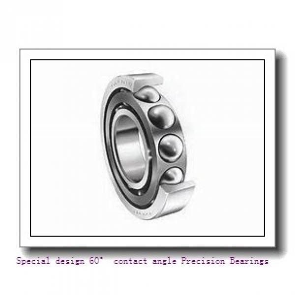 40 mm x 62 mm x 14 mm  NSK 40BER29HV1V Special design 60° contact angle Precision Bearings #1 image